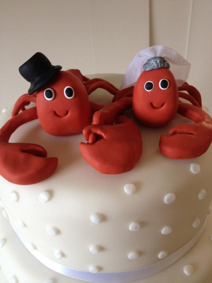 lobster wedding cake 2