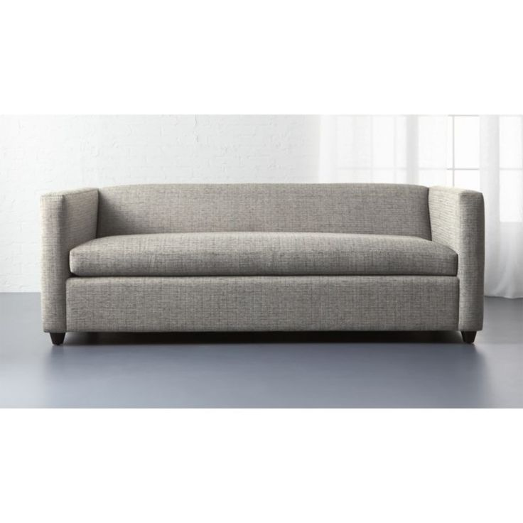 Small queen sleeper sofa thesofa for Compact sleeper sofa