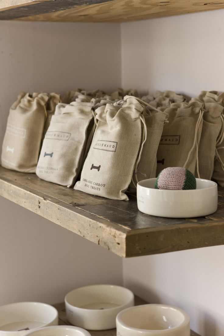 Organic dog treats and dog bowls, from Mungo & Maud, Dog & Cat outfitters