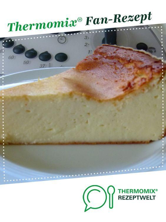 Schnell-Käsekuchen ohne Boden von Thereza von thereza. Ein Thermomix ® Rezept aus der Kategorie Backen süß auf www.rezeptwelt.de, der Thermomix ® Community.