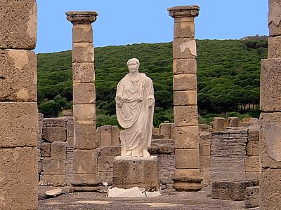 Conjunto Arqueológico de BAELO CLAUDIA (Bolonia - Tarifa, Cádiz) - ruinas romanas