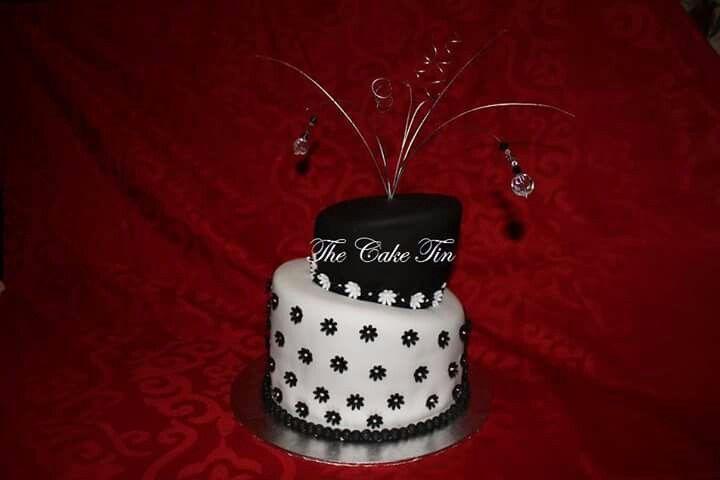 Topsy turvey celebration cake