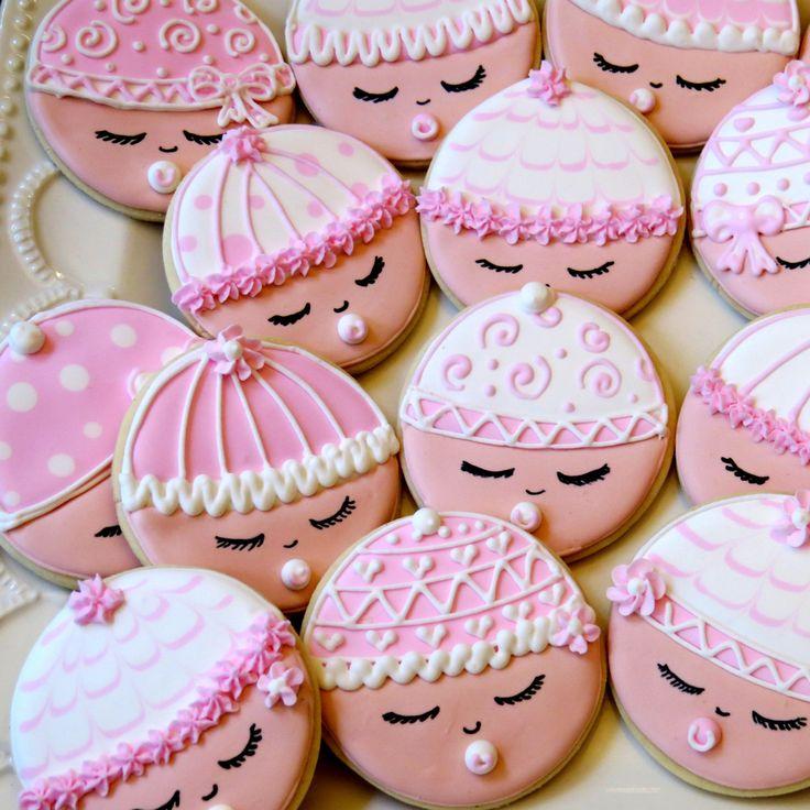 Terry 24 Custom listing Baby Shower favors Sugar Cookies. $69.00, via Etsy.