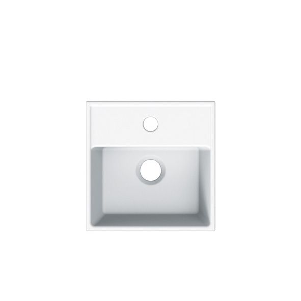 Badvaske, Sinks; Teorema R 30; Hvid porcelæn