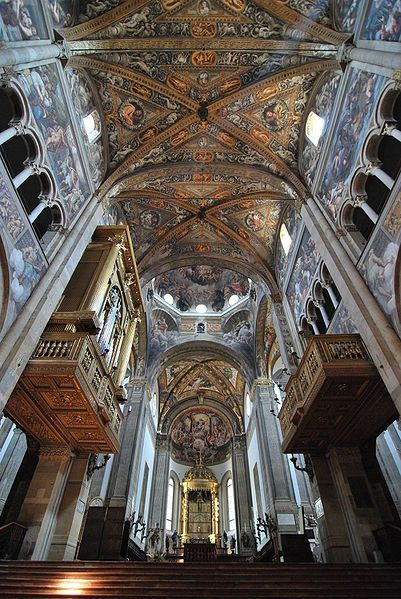 Parma cathedral - Emilia Romagna, Italy - construction begun 1178