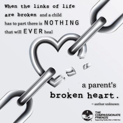 Compassionate FriendsChild Loss, Babyloss Support, Broken Chains, Quotes, Angels Baby, Broken Link, Infants Loss, Broken Heart, Pregnancy Loss