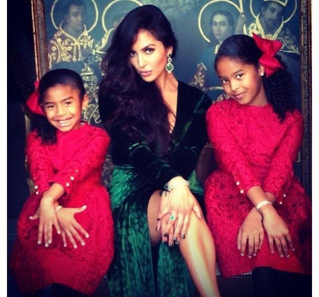 The REAL Laker Girls - Vanessa Bryant & daughters Natalia and Gianna