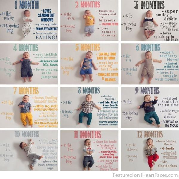 Track Your Baby's First Year With These Oh-So-Sweet Photoshoot Ideas