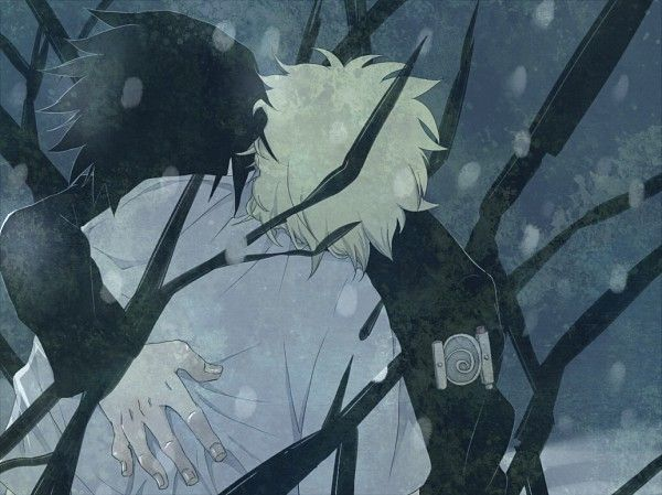 Naruto and Sasuke  my shoulders are strong  but you can cry on them    Naruto And Sasuke Friends Forever