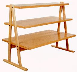 Wood Display Tables From Our Store Display Products