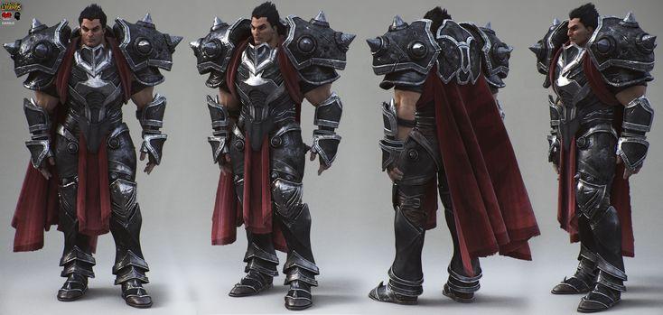 League of Legends - Darius ( production render) by Alessando Baldasseroni