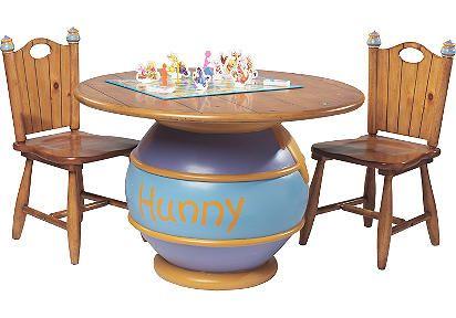 Hunny Pot Table http://www.betterimprovement.com/winnie-the-pooh-table-set/