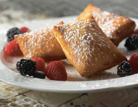 Add a taste of the Big Easy to your breakfast or after dinner treat with these classic Beignet pastry squares!
