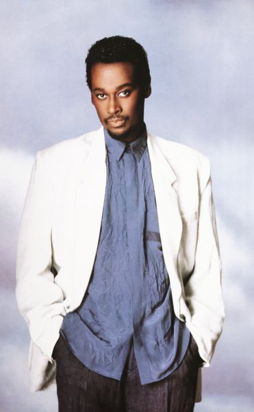 Luther Vandross (photographed by Matthew Rolston, 1986)