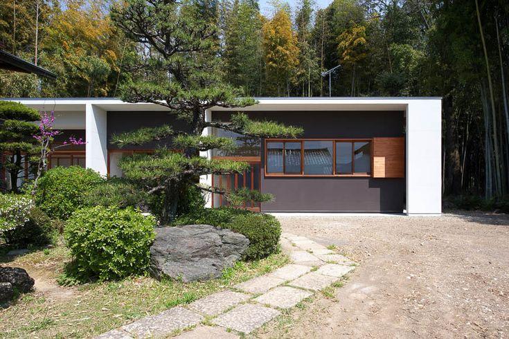 和モダンの家 竹林の中で佇む家 アーキッシュギャラリー