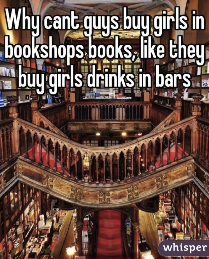When is somebody going to open a bookstore-bar so that I can actually have an intelligent conversation on a saturday night?