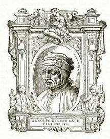Arnolfo di Lapo, ook wel bekend als Arnolfo di Cambio (1232 - 1302/1310) was een Florentijns architect, bekend van de Santa Maria del Fiore in Florence.