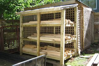 Outdoor Lumber Storage Rack Plans Woodworking Projects