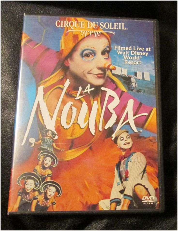 Cirque Du Soleil Dvd Collection: Cirque Du Soleil La Nouba DVD 2004 2 Disc Set Filmed Live