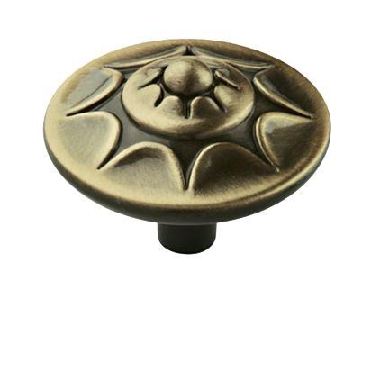 Amerock Allison Value Hardware Inch Diameter Mushroom Cabinet Knob Antique  Brass Cabinet Hardware Knobs Mushroom