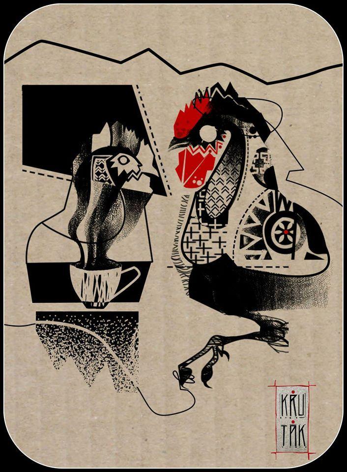 Redberry Tattoo Studio Wrocław #tattoo #inked #ink #studio #wroclaw #warszawa #tatuaz #gdansk #redberry #katowice #sosnowiec #bielskobiala #berlin #poland #krakow #krutak #labrujaproject #kogut #rooster #ethnic #etno #project #wegan #vegan #kurka #kura