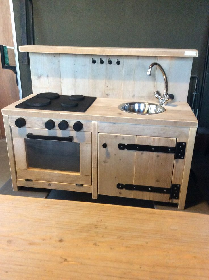 Keuken Steigerhout Kind : Kind Keuken op Pinterest – Speelkeukens, Kinderen en Speelgoed Keuken