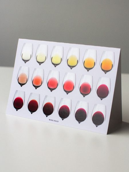 Color of Wine Greeting Cards