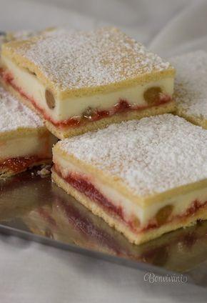 Tvarohový koláč linecký