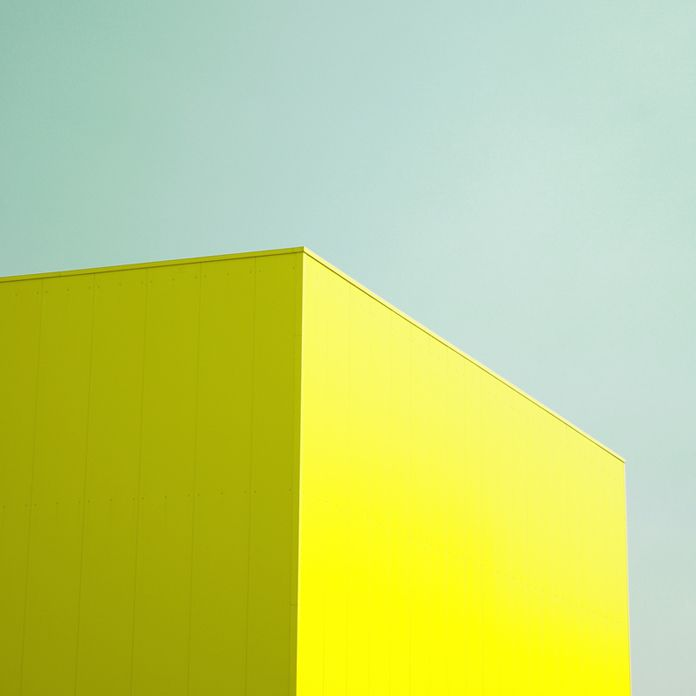 aqua and acid yellow | matthias heiderich