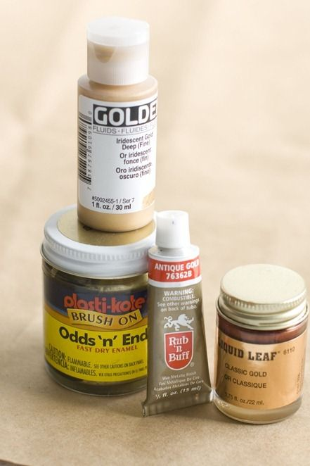Other pinner: Tips on Gilding. I want to do this to our big mirror.