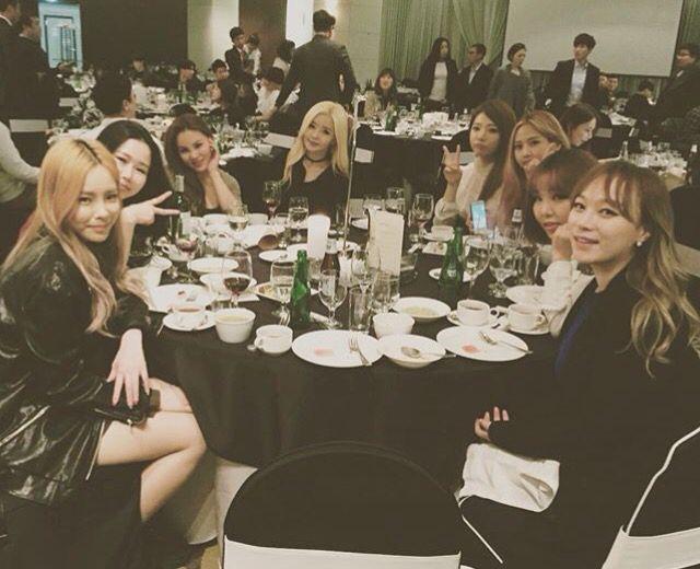 Heize, Gilme, Tymee, Yuk Jidam and KittiB at Jace's wedding ... #UnprettyRapstar