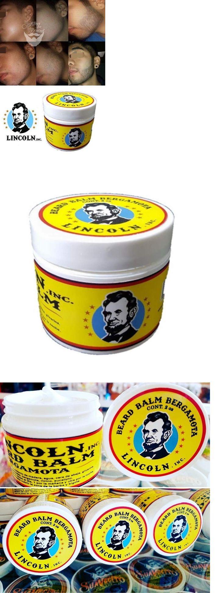Hair Loss Treatments: Lincoln Balsamo Natural Con Bergamota Para El Crecimiento (Barba Y Bigote) -> BUY IT NOW ONLY: $45 on eBay!
