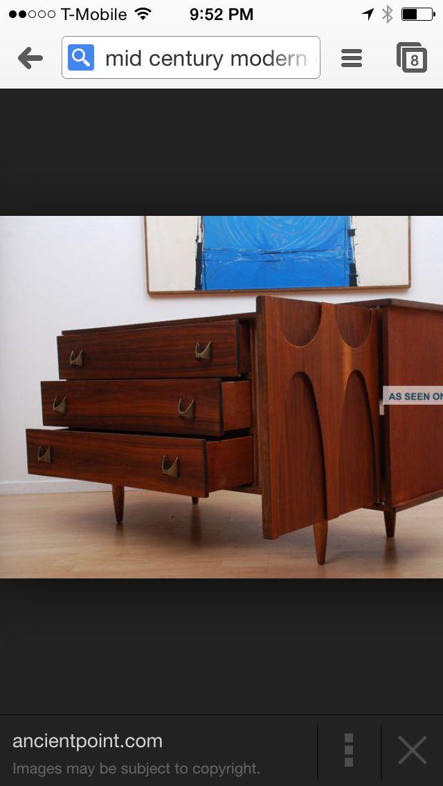 Stereo Cabinet, Mid Century Modern Dresser, Walnut Wood, Cabinet Ideas,  Credenza, Armoire, Dresser