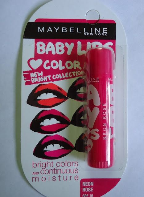 New Love Makeup - Baby Lips Brights Review - InstaGlam - The How To Makeup & Beauty Blog