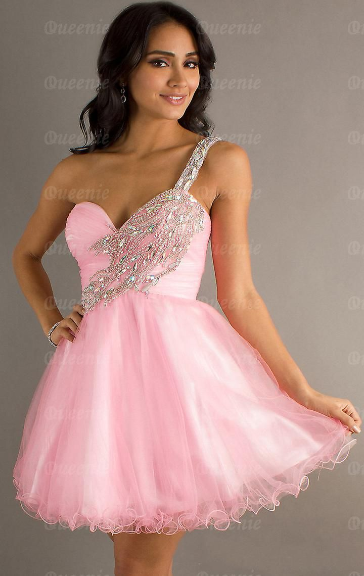 17 Best ideas about Pink Short Dresses on Pinterest | Homecoming ...
