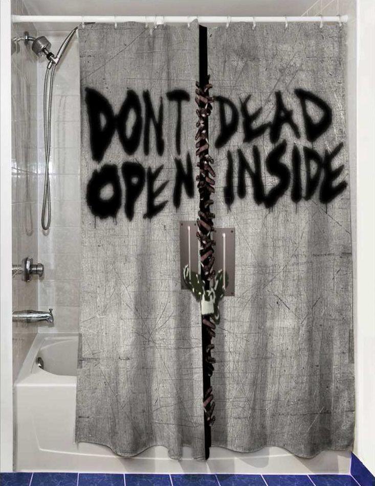The Walking Dead Duschvorhang - Hadesflamme - Merchandise - Onlineshop für alles was das (Fan) Herz begehrt!