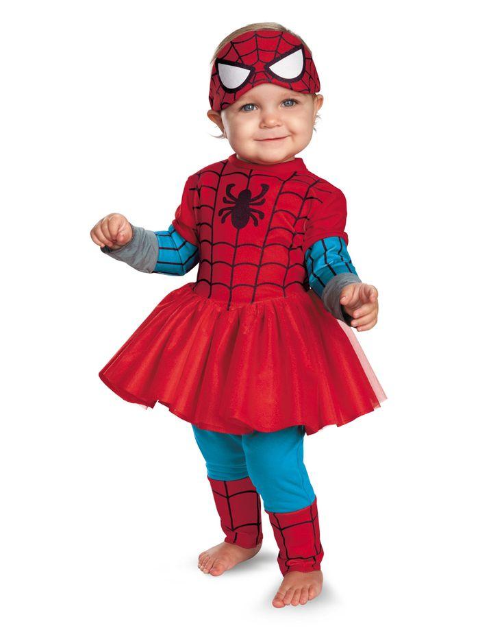 Fantasia de Homem-aranha para menina.