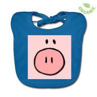 Ein Lätzchen für ihr kleines Schweinchen ... :-)