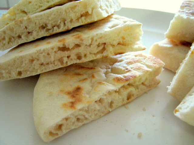 A Guyanese Flatbread: Sada Roti | 3 cups flour (may substitute 1 cup whole wheat flour for healthier option) 1 tablespoon baking powder 1/2 tsp salt