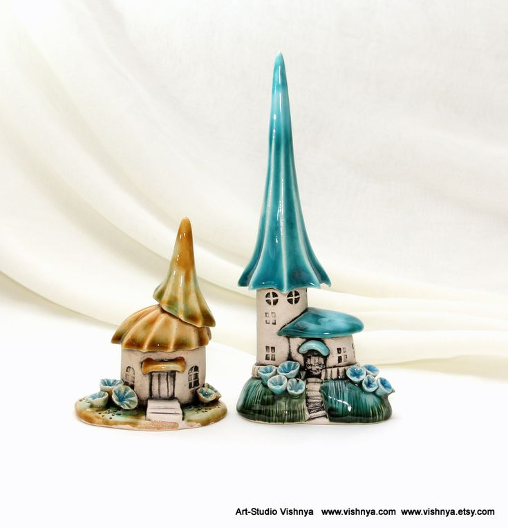 Houses of tiny fairies