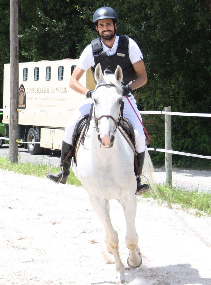 Entrainement d'équitation Centre du Moulin de Juvigny, Saut d'obstacle en Pentathlon Moderne