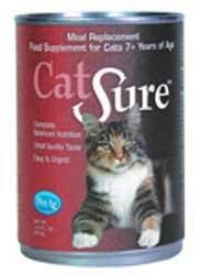 Extra: for senior cats. Pet Ag Cat Sure Liquid 12 oz. | Cat | Pet Supermarket