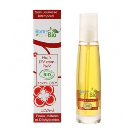 Argan olie  is ook bekend als het Goud van Marokko, is een van de meest waardevolle oliën met superieure kwaliteiten voor onze huid en het haar. Biologische arganolie wordt sterk aanbevolen voor de rijpere of vochtarme huid en is zeer rijk aan vitamine E,  provitamine A en het zeldzame gamma tocopherol. Arganolie verbetert de celvernieuwing, is sterk hydraterend en revitaliserend en beschermt de huid tegen uitdroging en UV.