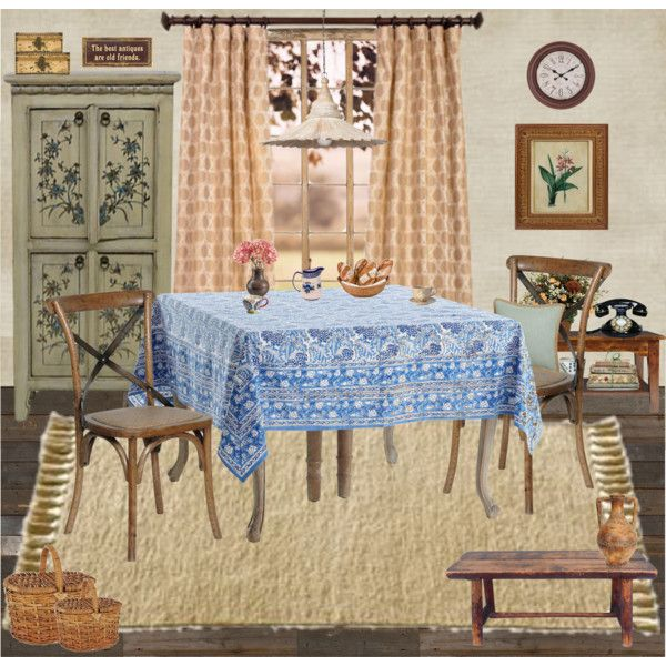 café du matin by chrylou on Polyvore featuring interior, interiors, interior design, home, home decor, interior decorating, Madera Home, Laura Ashley, Bellini Sara and Pier 1 Imports