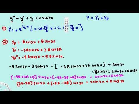 Method of Undetermined Coefficients : Superposition method #2