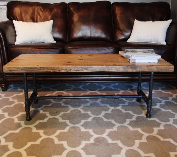 Industrial Urban Wood Reclaimed Coffee Table or Media by DendroCo, $319.00
