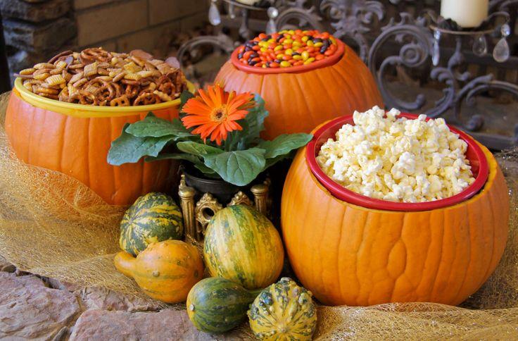 DIY pumpkin bowls / Crafted in Carhartt