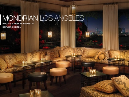 Sky Bar - Mondrian Hotel Los Angeles