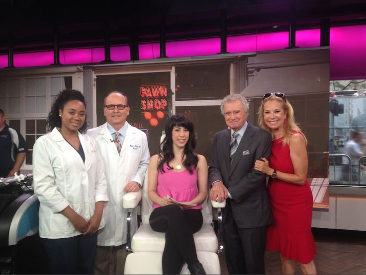 Taping of a live PicoSure laser tattoo removal demonstration by Dr. Katz of JUVA, on NBC Today Show this morning. Watch segment tomorrow morning on NBC at 9AM.
