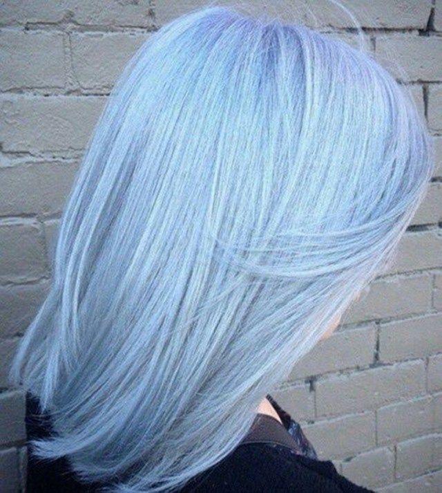 8 Schonsten Pastell Haarfarben Auf Pinterest Light Blue Hair